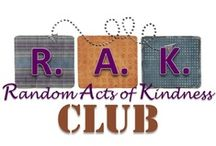 Random Act of Kindness Club / Teaches character through creative activities. Use these ideas to start one in your classroom today!