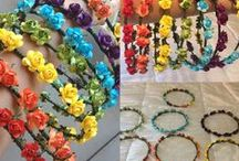 Flower Crowns / All available at www.mayrafabuleux.com