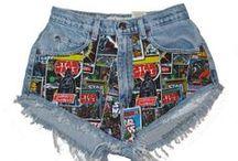 High Waisted Shorts / High Waisted Shorts I design, make and sell. www.mayrafabuleux.com