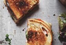 GRILLED CHEESE / Because we love grilled cheese and we think you do too ... / by PurpleClover