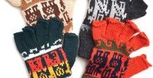 Fair Trade Gloves / All our gloves/mittens/glittens are hand-knit by Fair Trade artisans