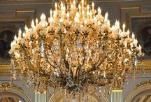 Chandeliers ~ / Gorgeous Chandeliers, Beautiful, Bling,