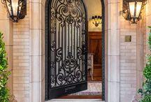 Gorgeous Wrought Iron Doors / Gorgeous Wrought Iron Doors
