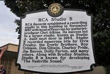 Memphis, Graceland, Nashville