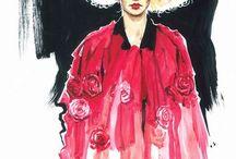 Illustration fashion