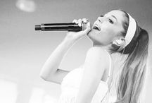 Ariana Grande / She's one of my biggest role models. She's perfect & I've loved her since the very first episode of Victorious!(: / by Brianna Jones