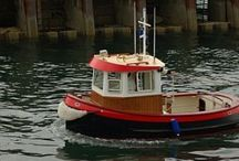 Mini tug boats / by Joel Robinson