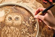 the art of woodburning / pyrography