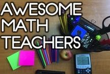 Awesome Math Teachers / Ummm...if you are a math teacher and haven't read their blog or seen their work, you are missing out!