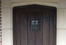 Exterior Doors / A sample of exterior oak doors made and fitted by our highly skilled craftsmen
