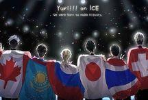 ユーリ!!! on ice / Ice skaters are all so extra