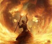 RPG Mage of Fire / Mages; Fire Mages; Explosions; Torrents of Flames; Destruction in Magic Hands; Pyromaniac