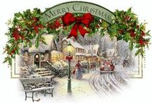CHRISTMAS / FESTIVE IDEAS, DECORATIONS INDOORS & OUTDOORS, RECEIPS, CRAFTS, ETC.