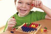Holzspielzeug von HABA / Spielen, Stecken, Stapeln: Unser buntes HABA Holzspielzeug ist vielseitig einsetzbar. Der Kreativität sind keine Grenzen gesetzt. Zu finden unter: haba.de/steckspiel-stapelspiel-sortierspiel