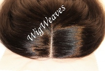 Custom  Lace Front  & Closures / I'm a Wigmaker, I make beautiful custom closures. Visit http://www.wigweaves.com to see my work or inquire about my services!