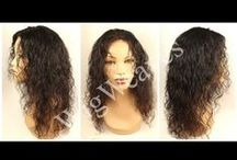 Wigmaking / I'm a Wig Designer located in Los Angeles. Visit my Blog at http://www.wigweaves.com  for information about my services!
