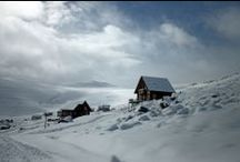 Afriski Winter Wonderland / The only ski resort in Lesotho, high in the Maluti Mountains.  Real snow, real skiing.