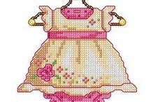 cross stitch for bebè