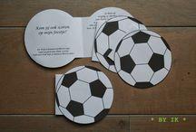 Voetbalfeestje / Inspiratie voor een voetbalfeestje