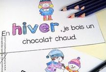 Hiver / Winter resources and ideas for your French classroom!