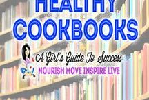 Healthy Cook Books / Great recipes in these fabulous Cookbooks - Healthy, Paleo, Vegetarian, Sugar Free, Whole 30, Auto-immune Protocol