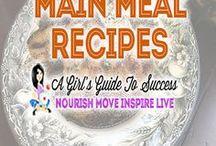Healthy Main Meal Recipes