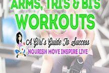 Arm, Tri's & Bi's Workouts