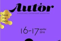 AUTOR 2016 / Apply now for the 2016 edition of AUTOR Fair!  Starting this year, AUTOR INTERNATIONAL CONTEMPORARY JEWELRY FAIR will take place once a year, in spring. This is the moment to send over your newest jewellery collections and to impress our almighty jury!  AUTOR 2016 >  APRIL 2016 > BUCHAREST, ROMANIA  #AutorFair #AUTOR2016 #contemporaryjewelry #jewelry #jewellery #bijuteriecontemporana #art #design