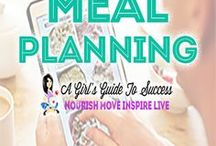 Meal Planning / Here are our favourite tips and tricks for getting your healthy meals under control.  It's all in the preparation.