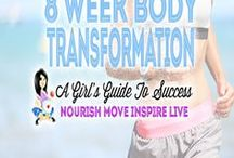 8 Week Body Transformation / Need an effective weights program for the gym. Check out Fitness Food Diva's 8 Week Body Transformation. Missing Days = active rest days (no weights)