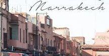 Marocko / Reseinspiration och restips till Marocko . Marrakech, Atlasbergen, Sahara