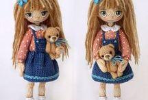 Lalunie crochet / cudowne lalki znalezione w sieci