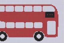 Counted cross stitch / by Theresa Cooper