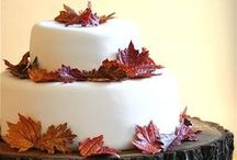 Fall Wedding Cake Ideas / Can't bake a perfect cake every-time, right? The cake is a lie indeed. / by Clara Bellino
