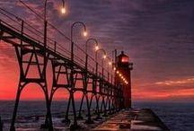 Lighthouses/Harbors/Nautical...etc / by Shirley Klock