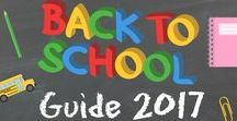 Back To School Guide / Everything you need for Back to School #giveaways #coupons #Deals #Recipes #tips and more