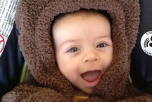 Bears & Babies / We'll pin cute pics of stuffed animals with adorable baby counterparts.