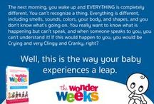 Tips & Fun - The Wonder Weeks / Funny/Beautiful Pictures, Quotes and Tips from The Wonder Weeks