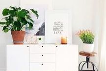 Interiors / Pretty ways to style your nest