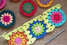 Crochet Granny Squares and other Motives / by Sue Shahrouri