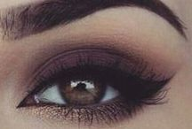 Makeup tutorial.