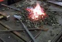 Omat taontatyöt / My blacksmithyings / Omat taontatyöt / Black smith works made by me