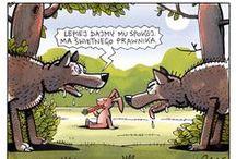 Humor / rysunki satyryczne