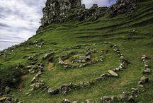 Ireland, Scotland, Wales and England