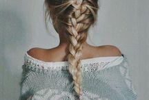 hair / Short, long, straight, etc.