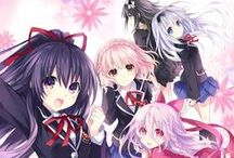 Date A Live / by Tsunako and others