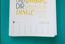 Typografie - Himmel im Herzen