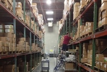 Warehousing / Receiving, warehouse management systems, best practices, outsourcing.