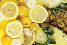 Color Your Plate: Yellow / Yellow food recipes and education.