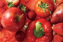 Color Your Plate: Red / Red food recipes and education.